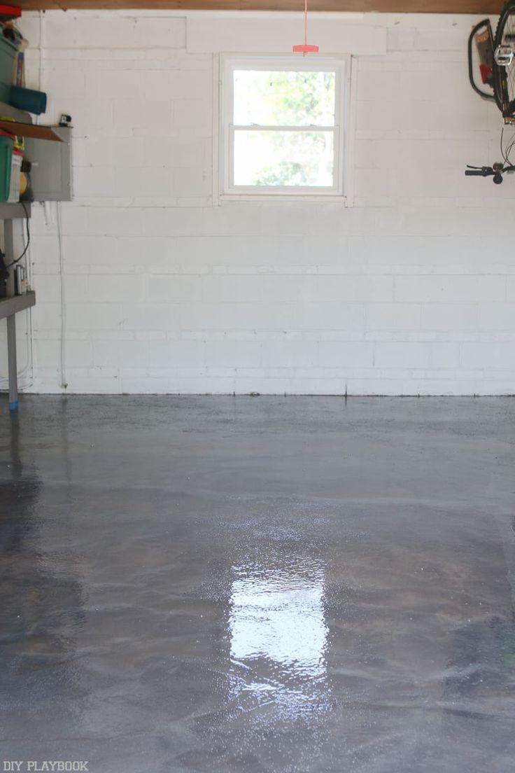 DIYing my Garage Floor with Epoxy Epoxy floor diy, Diy