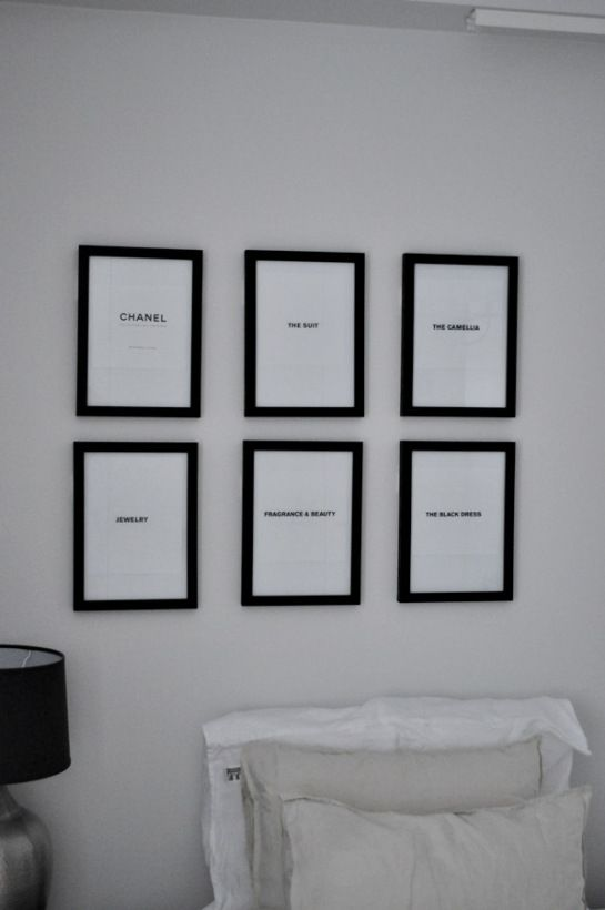 at home by rita | #frames #chanel #clasohlson #beige #bedroom #linen