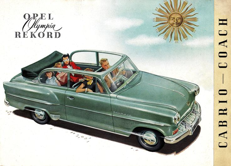 '53 Opel Olympia Rekord