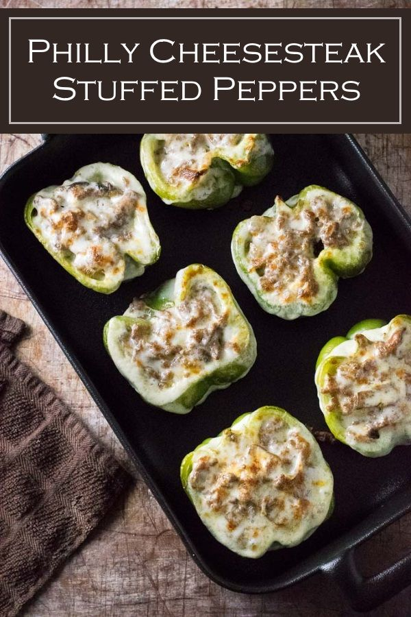 Philly Cheesesteak Stuffed Peppers Stuffed Peppers Cheesesteak Stuffed Peppers Food