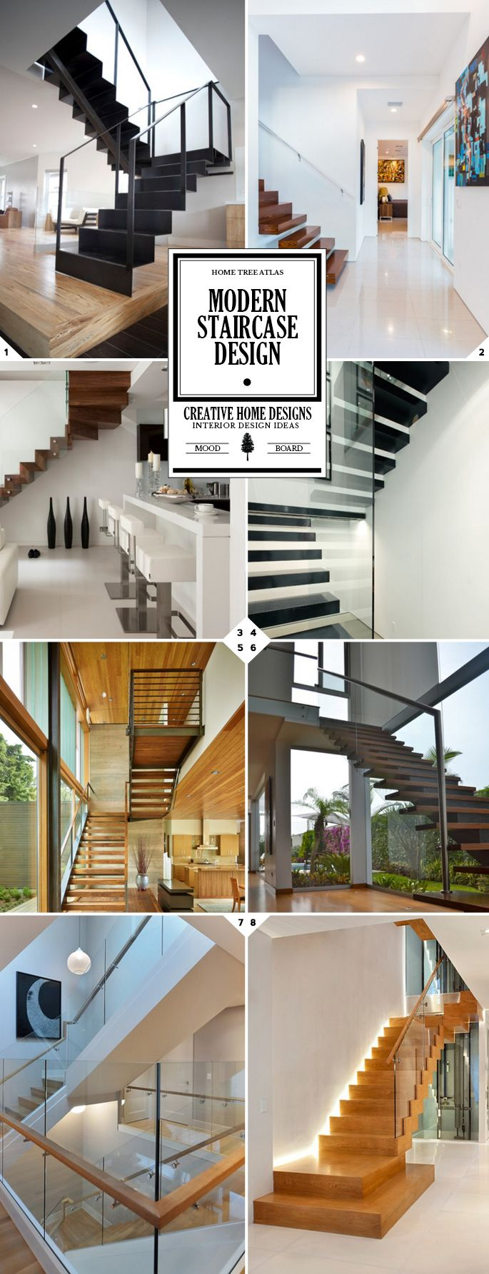 Captivating Modern Staircase Ideas And Designs