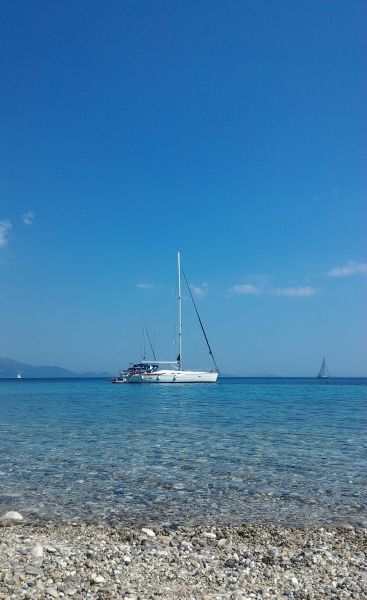Fantastic water in the Ionian Sea