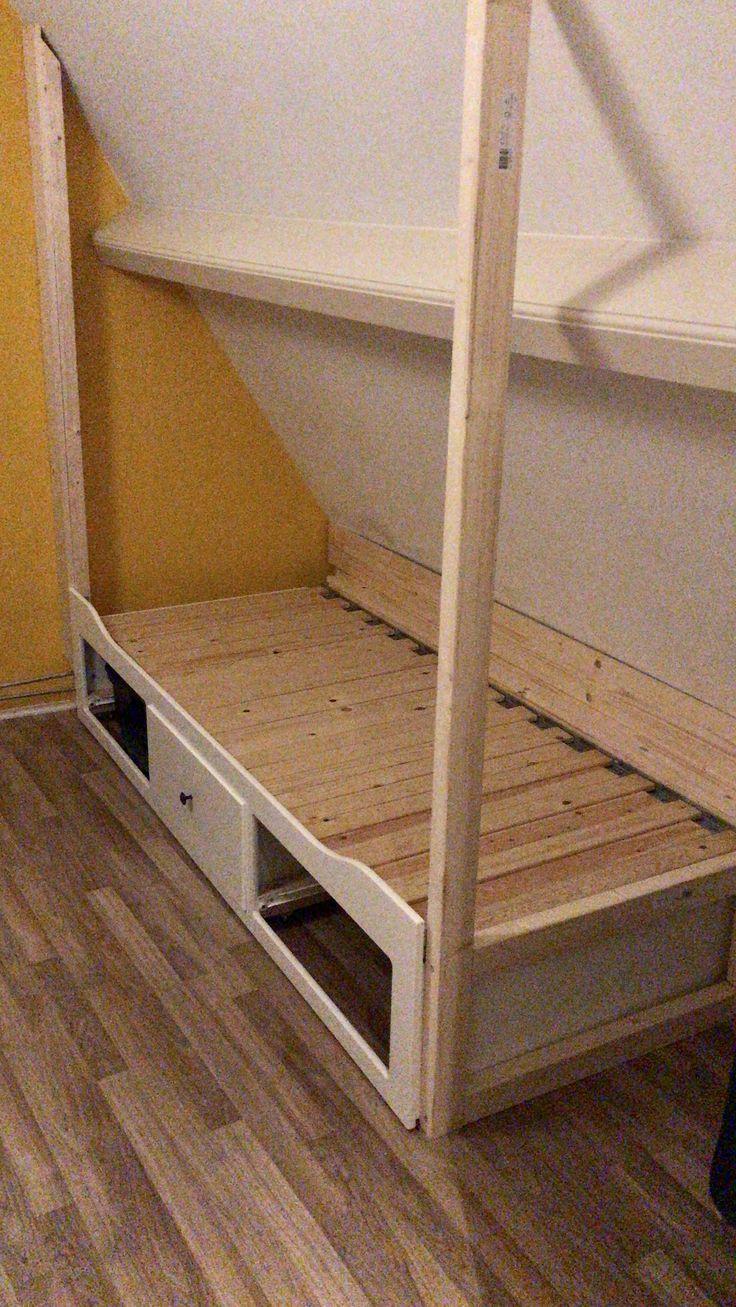 Most Current Photos Erste Einrichtung Ikea Bettkasten Schragwand