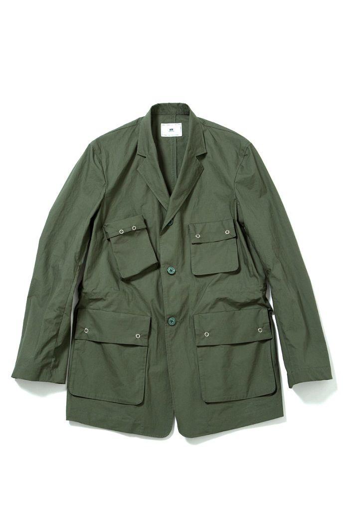 soe / ソーイ / Cotton Hunting Jacket 商品詳細 ファストレーン