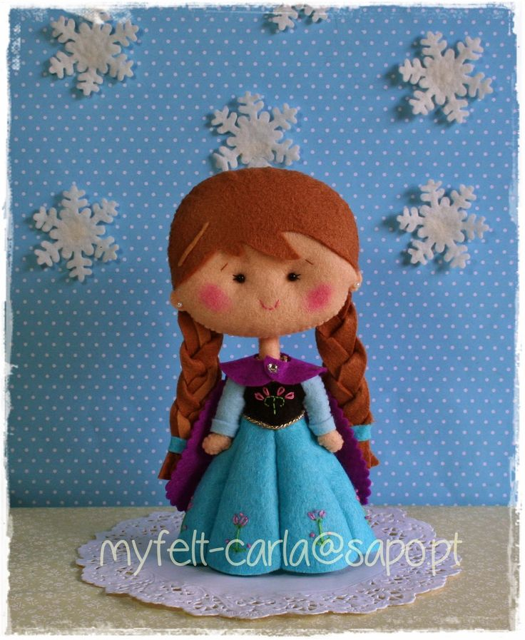 Anna - Frozen en fieltro