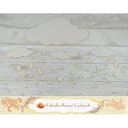 Zestaw chmurek deszczowych ST80  clouds