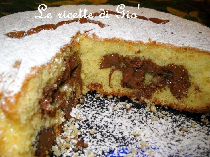 Torta morbida alla Nutella | Le ricette di Giò