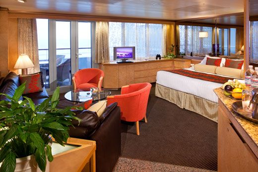 Cruise in Style in a Verandah Suite on the Holland America Line's Veendam