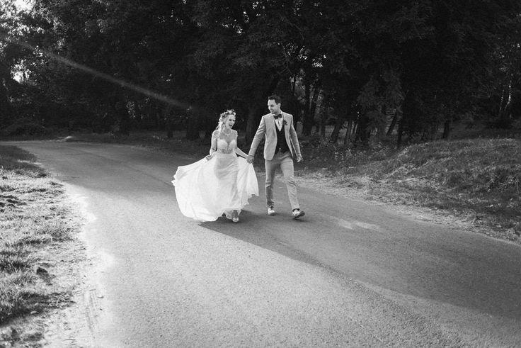 Zsofi is wearing Nora Sarman Berlioz gown / photo Gabor Muray / Nora Sarman Bridal