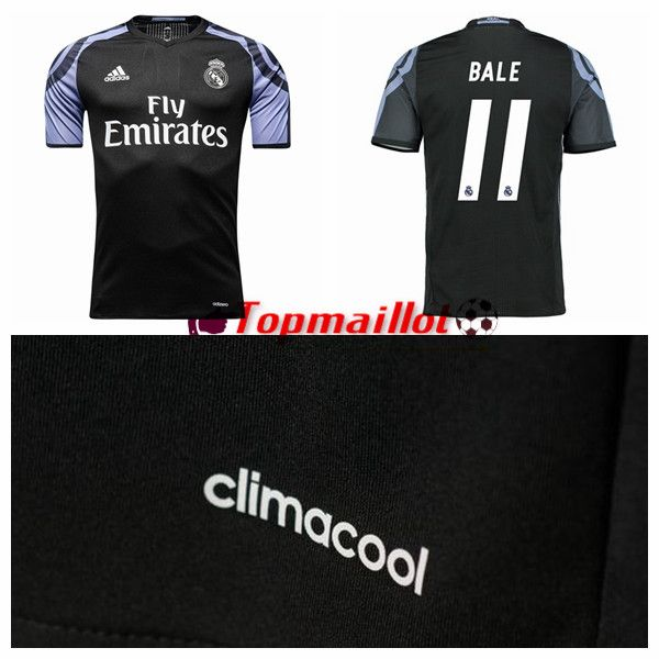 Le Maillot de Foot Real Madrid (BALE 11) Third 2016/2017