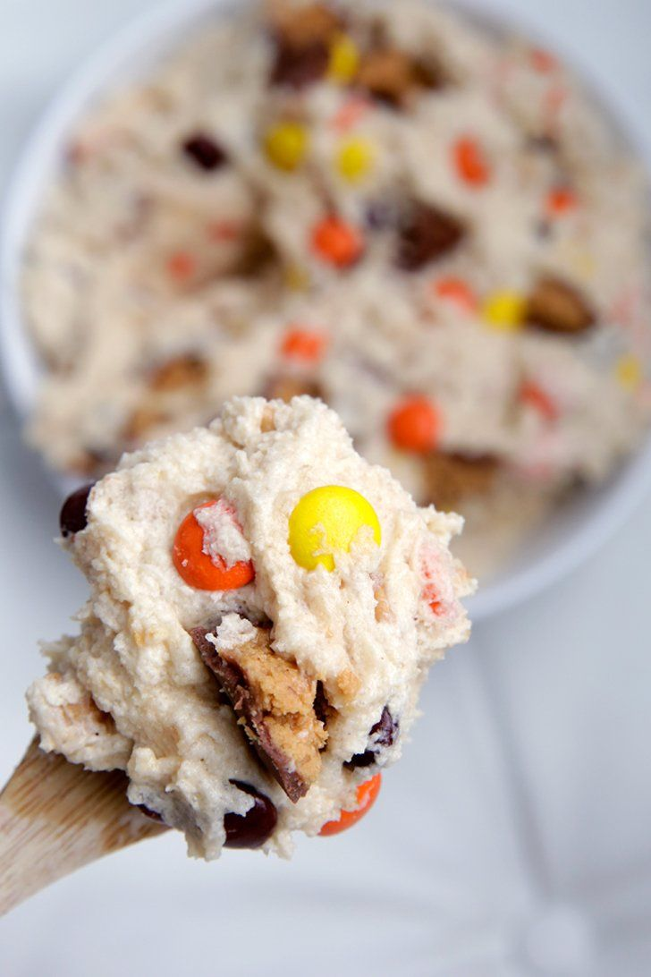 Pin for Later: Reese's Peanut Butter Cup edible cookie dough (no eggs!)