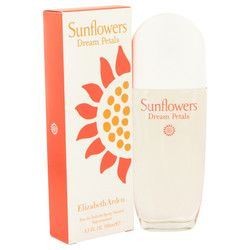 Sunflowers Dream Petals by Elizabeth Arden Eau De Toilette Spray 3.3 oz (Women)