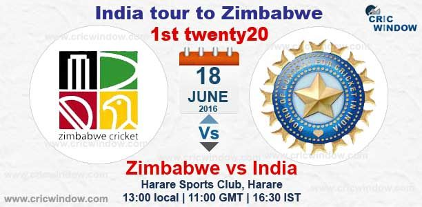 1st T20 Zimbabwe vs India : Live Score & Live Video http://www.cricwindow.com/cricket_live_scores.html http://www.cricwindow.com/cricket-live-match-video.html