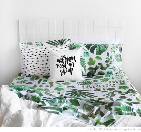 Bondville: Kick start photographic bed linen for kids from The Club Of Odd Volumes