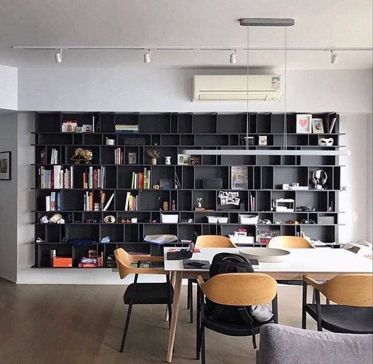 Inspired decor idea for our insta friends book lovers  As shown our chaotic bookshelf and Milano dining table. #boconcept #boconceptla #interior4all #interior123 #interior4you #bookcase #bookshelf #booklover #decoration #instagood #instafind #details #cominghome #followfriday #decorar #showhometop5
