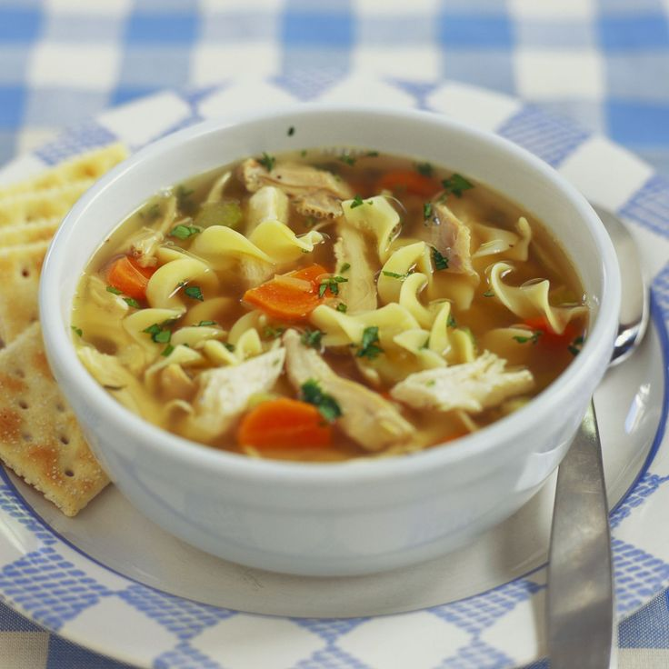 Our version of the ultimate feel-good food, Homemade Chicken Noodle Soup is chock-full of seasonal vegetables like leeks, carrots, celery, and onions.