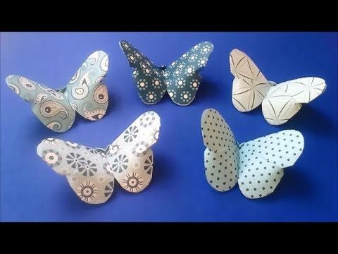 Easy to Make Paper Butterflies | ... Day Crafts for Kids : How to Make a Valentine's Day Butterfly for Kids