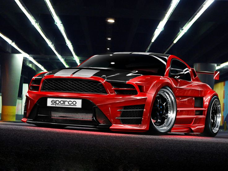 #UsedEnginesFord Mustang Shelby GT500 by Ford Mustang Shelby GT5005 years ago in Vehicular Graphics