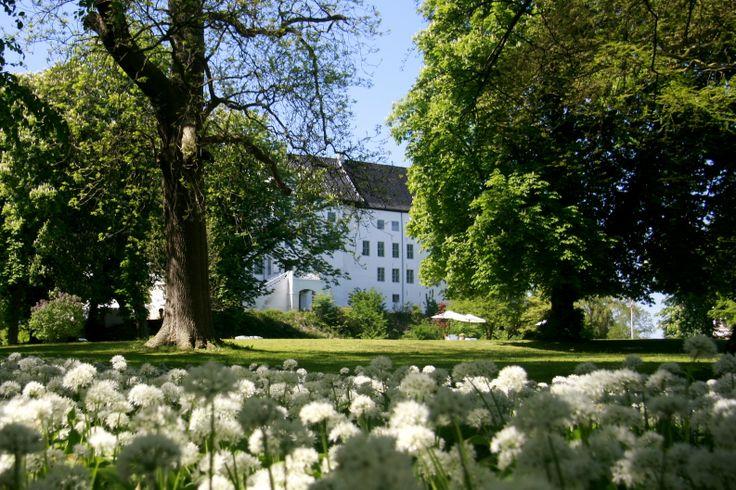 A picture taken from the Castle's garden. Dragsholm Castle. Denmark. www.dragsholm-slot.dk