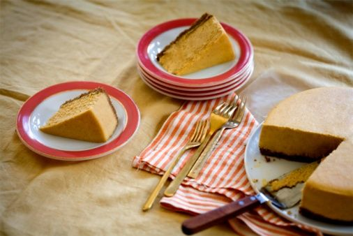 Low-Carb Pumpkin Cheesecake Recipe Making this for Thanksgiving since I can't eat regular pumpkin pie!!