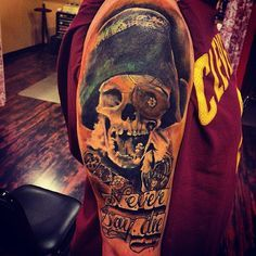 Goonies Tattoo by Jonathan Brookshire