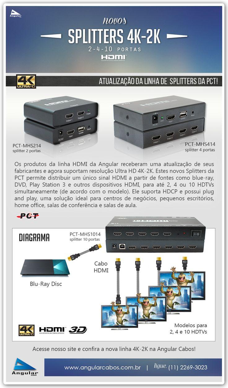 Image result for PCT MHS-414 HDMI splitter