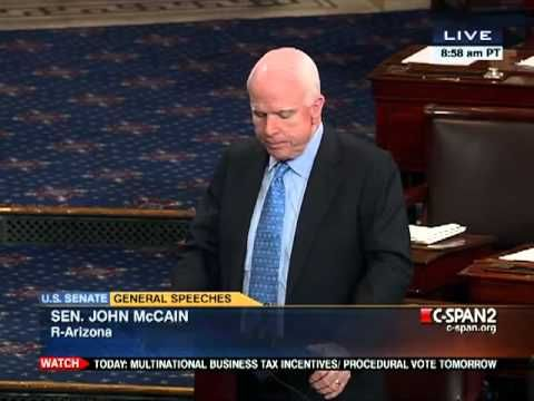 Flashback:  RION Senator John McCain (R-AZ) defends Hillary's pal Huma Abedin 2012