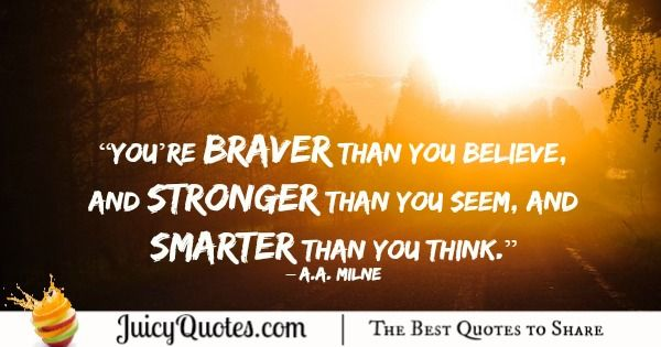 Quote About Change - A.A. Milne
