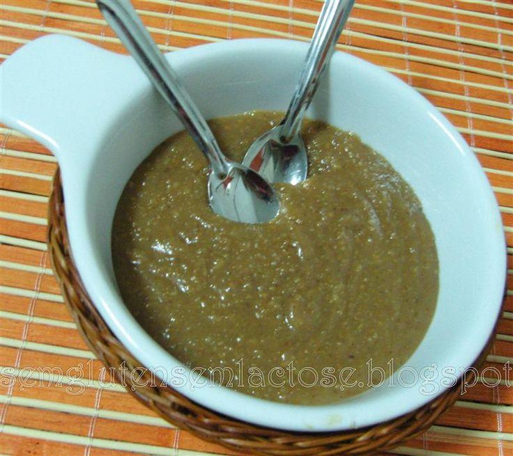 Paçoca de Colher (Doce de Amendoim ou Cajuzinho)