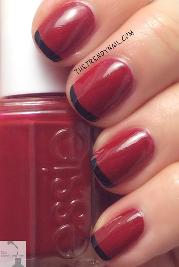 20 best Not So French - French Manicures images on Pinterest   White ...
