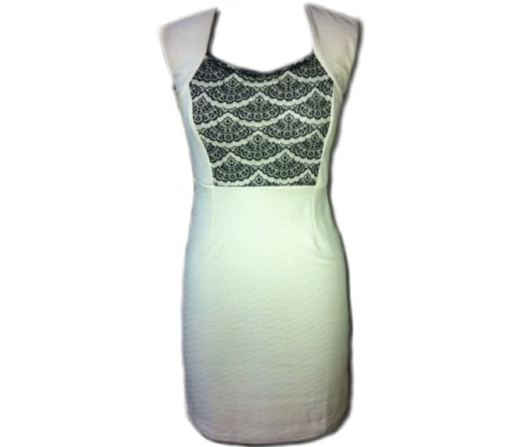 A DRESS TO KILL  NO.6  COLOR- Off white SIZE- M & L  To place your order kindly whatsapp on- 9910437303 or u can bbm- 7E2C2EE6