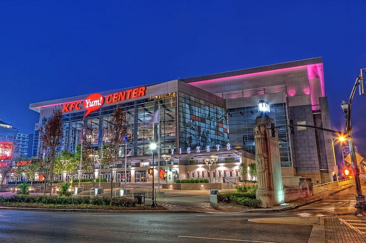 KFC Yum Center HDR Louisville Ky