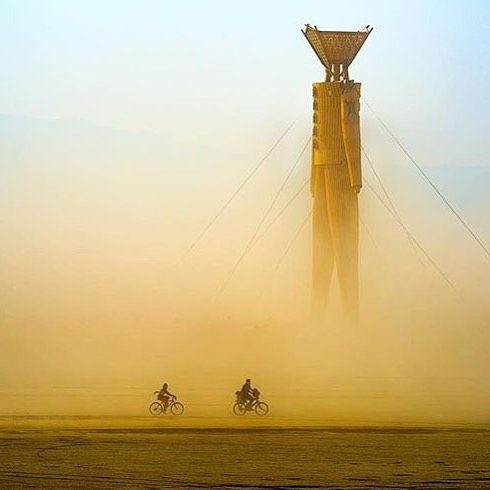 #burningman @michael.holden.photographer  #burningmanphotos #duststorm