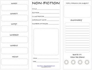 nonfiction student worksheet  free pdfTeacher Park