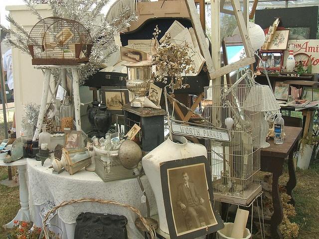 great vintage display
