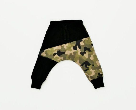 Baby cotton  pants // Camo baby pants // pants for by TULIBERT
