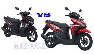 Perbandingan Yamaha Soul GT Blue Core vs Honda Vario 125 ESP