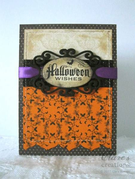 Beautiful Vintage Looking Halloween Card
