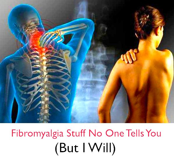 Fibromyalgia Stuff No One Tells You (But I Will) tootiredtolivebutstillbreathing.blogspot.com