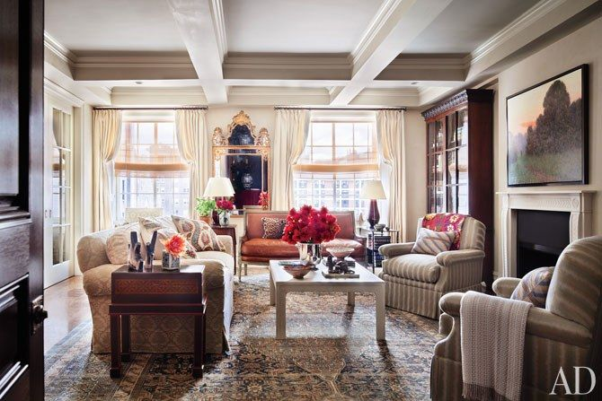 Ali Wentworth and George Stephanopoulos's New York Apartment | Architectural Digest