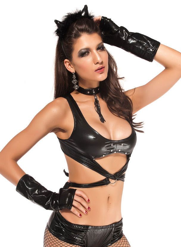 Sexy Dark Cat Danger Costume