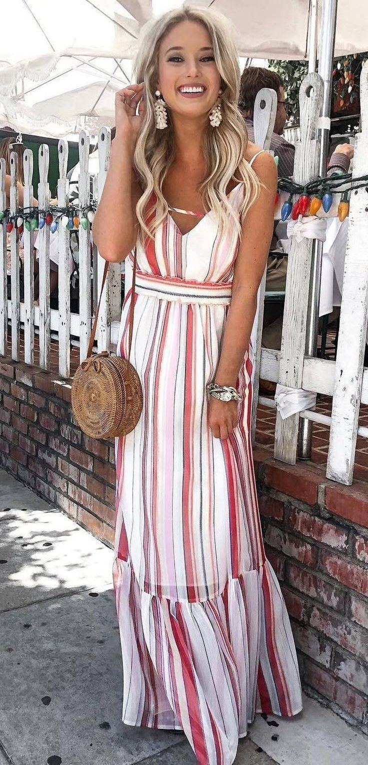 42 Stylish Summer Outfits Ideas To Copy Right Now Stylish Summer Outfits Summer Fashion Fashion [ 1528 x 736 Pixel ]