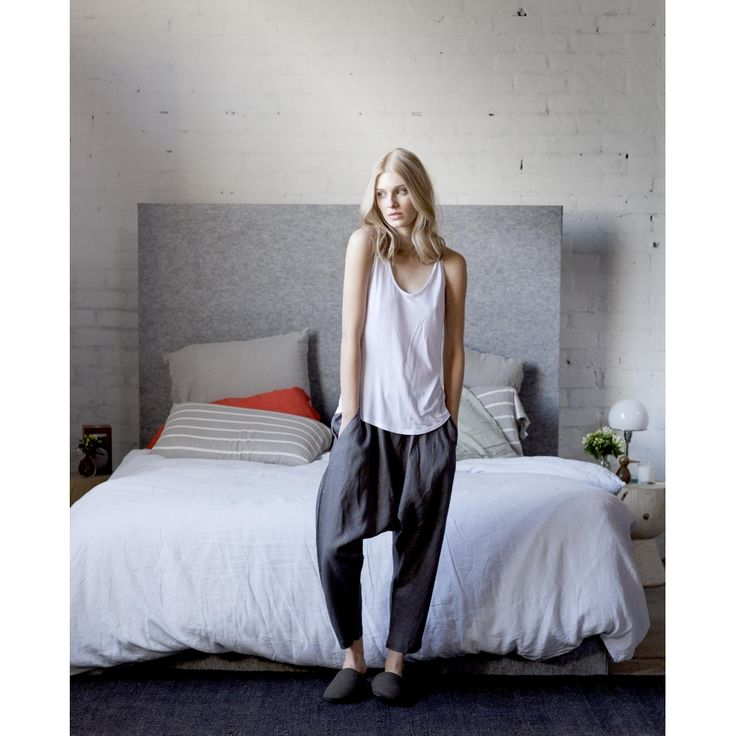 Elk pyjama. Linen and modal/tencel.
