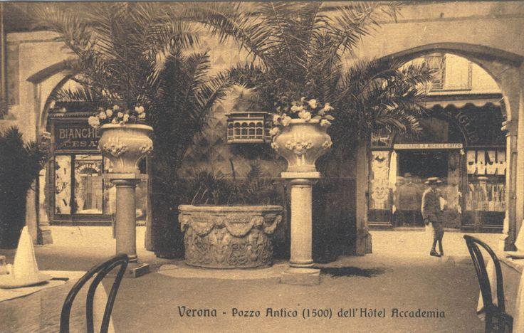 Verona - Ristorante Accademia (via Mazzini) - Pozzo Antico