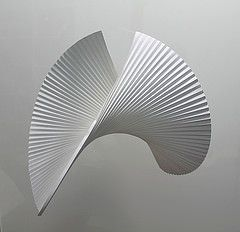 MMXXIV (Andrea Russo Paper Art) Tags: art paper artist fold curved folding pleat curvedfold andrearussoart