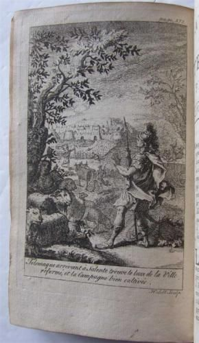 Les-Avantures-de-Telemaque-1742-Salignac-12-engraved-plates-plus-folding-map