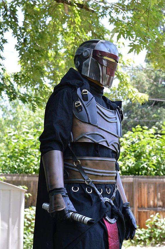 Star Wars Darth Revan Raw Cast Armor Mask Prop Cosplay SWTOR