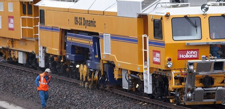 John Holland has been awarded a multi-million-dollar contract by the federal government to upgrade rail track between Adelaide and Tarcoola, in an effort to improve the efficiency of freight movements between the east and west of Australia.