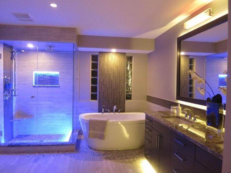 adorable bathroom mirror led lights. Blue Led Bathroom Lights  Decor Pinterest and Toilet