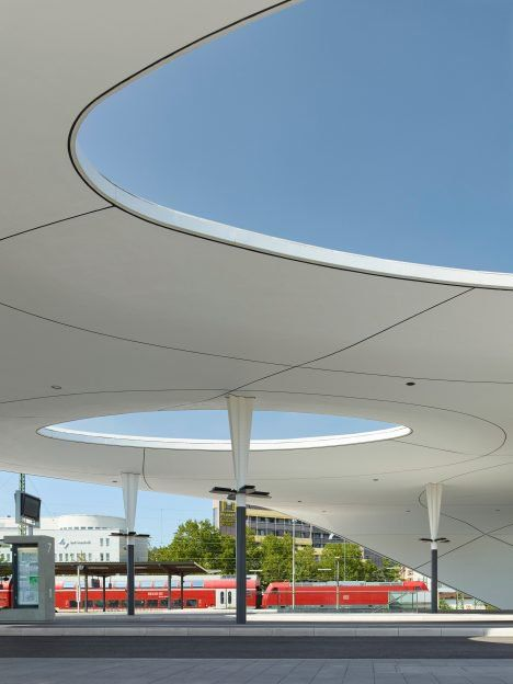 Central Bus Station, Pforzheim, Germany by Metaraum Architekten